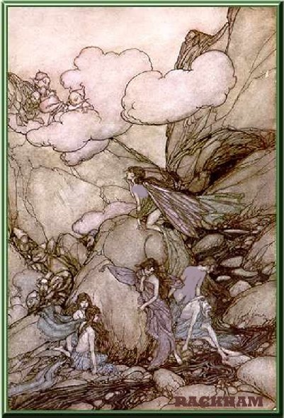 Arthur Rackham fairy art, faery graphics, faerie painting, fairie images,fae paintings, elf images, and beautiful  pictures of victorian fairies, also called fairies, fairys, fairyes, faeries, faerys, faeryes, faries,  farys, by  arthur herbert buckland, delville, fitzgerald, duncan, doyle, and charles robinson