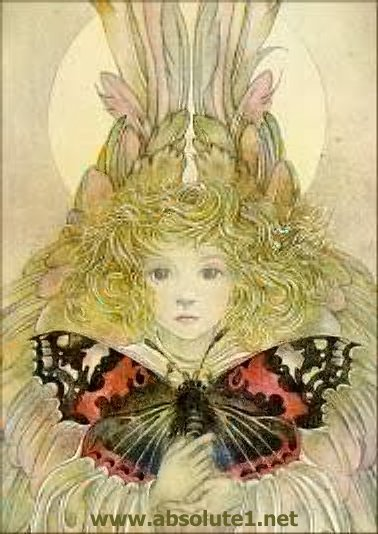 art of sulamith wulfing - the butterfly